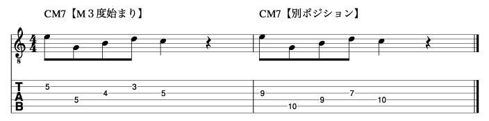 メジャートニック_ピックアップフレーズ2_楽譜