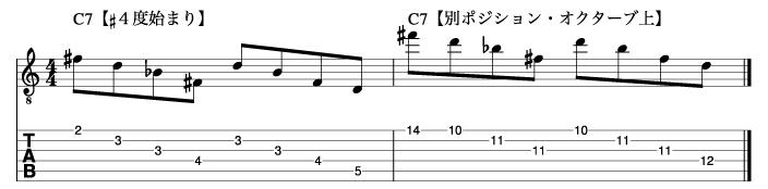 リディアンセブンスフレーズ1_楽譜