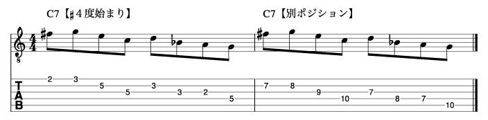 リディアンセブンスフレーズ2_楽譜