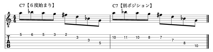 リディアンセブンスフレーズ3_楽譜