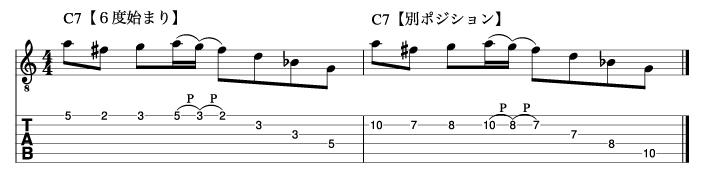 リディアンセブンスフレーズ4_楽譜