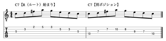 リディアンセブンスフレーズ5_楽譜