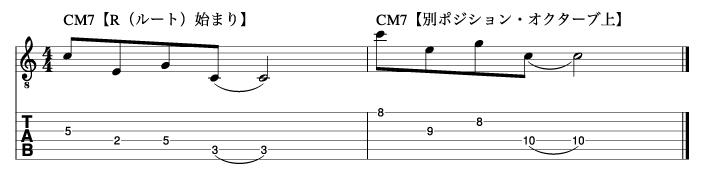 ルートから始まるトニックフレーズ2_楽譜