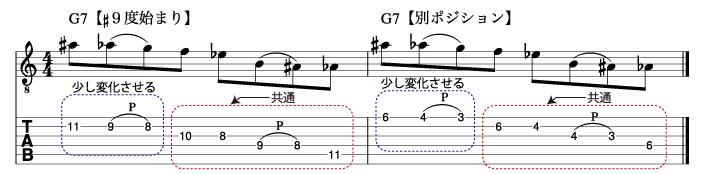 定番オルタードフレーズ4_楽譜
