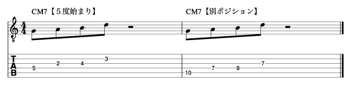 5度から始まるトニックフレーズ1_楽譜