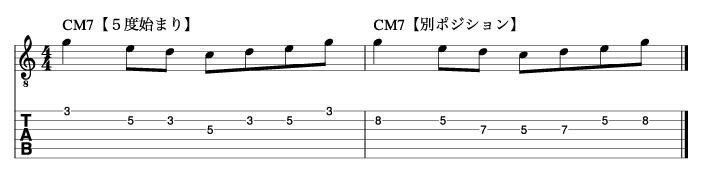 5度から始まるトニックフレーズ2_楽譜