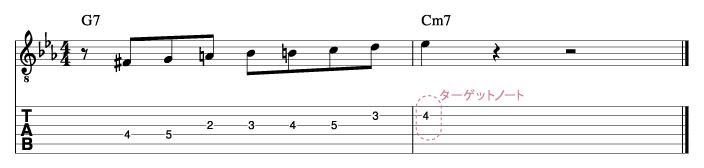 ジョンスコフィールド風ソロフレーズ3_楽譜