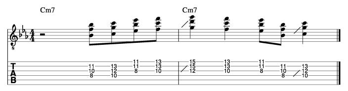 ジョージベンソン風ソロフレーズ2_楽譜