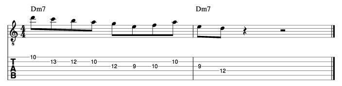 パットマルティーノ風ソロフレーズ1_楽譜
