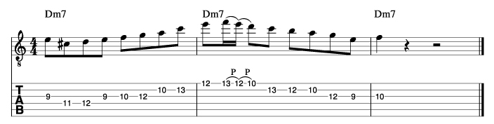 パットマルティーノ風ソロフレーズ5_楽譜