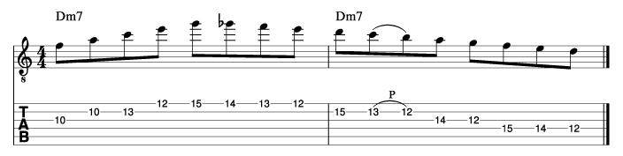 パットマルティーノ風ソロフレーズ8_楽譜