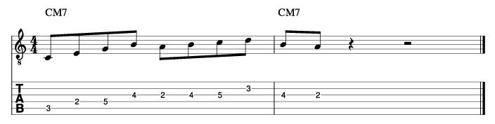 パットマルティーノ風ソロフレーズ9_楽譜