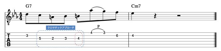 マイクスターン風ソロフレーズ4_楽譜
